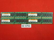 4GB 4x1GB Hynix DDR2-400 RAM PC2-3200R 1Rx4 ECC HYMP512R724-E3 AA-A #KZ-3751