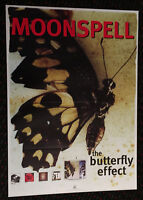 MOONSPELL The Butterfly Effect 23x33 promo poster GOTH Black DEATH Heavy METAL