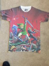 Nintendo Legend of Zelda Ocarina of Time 3DS graphic S/S cotton blend t-shirt, S