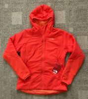 The North Face Womens Ventral Hoodie Jacket Fire Brick Red Size Medium Warm Coat