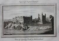Original antique print APPLEBY CASTLE, WESTMORELAND, 'England Displayed' 1769