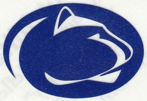 REFLECTIVE Penn State Nittany Lions fire helmet decal sticker up to 12 inches