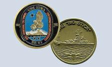 USS Iowa BB-61 Battleship Challenge Coin The Big Stick