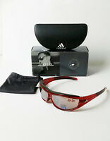 Adidas Evil Eye Pro A127 00 6059 Frames Red Authentic Sunglasses