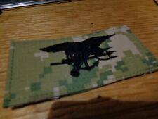 AOR2  NWU Type III SEAL  WOODLAND / GREEN  Patch HOOK  TYPE 3  NWOT