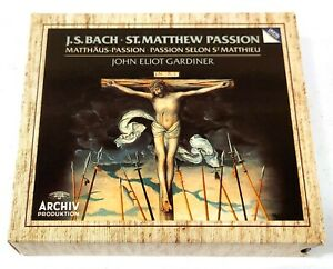 John Eliot Gardiner Bach 3CD 1989 Archiv Produktion 427 648-2 Germany E315