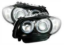 LUCES FAROS AV ANTES ANGEL EYES M2 BMW SERIE 1 E81 E87 SPORT M M1 PACK GRAND