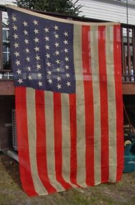 C1896 Old Maine Estate  Lg 45 Star Flag