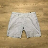 Polo Ralph Lauren Mens Blue Casual Cotton Chino Shorts Classic Fit Size 38