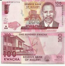 MALAWI 100 KWACHA 2016