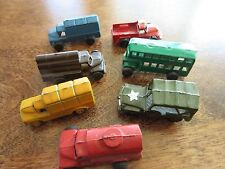 Lot of Japan cars trucks bus military great paint 7 total small between 1 and 2""