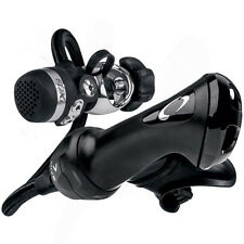 Oceanic Omega 3 FDXi DVT M-Flex Swiv Black Scuba Diving Regulator - Yoke