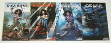Rawbone #1-4 VF/NM complete series - pirate horror comics - wrap variants