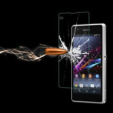 Premium Tempered Glass Screen Protector Cover For Sony Experia Z1 Compact/Mini
