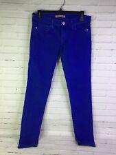 Rebecca Minkoff Women's Size 27 Cobalt Blue Bleeker Skinny Jeans Low Rise