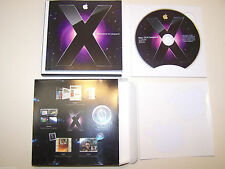 Mac OS X Leopard Ver. 10.5 Install DVD with box. Retail Version MB021Z/A Mint