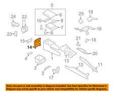 SUBARU OEM 09-14 Impreza Center Console-Rear Cover 92113FG000JC
