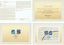 BRD 1990: Maueröffnung-Ersttagsblatt mit Block 22 und den Nr. 1481 + 1482!