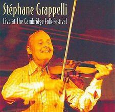 MUSIC CD Stephane Grappelli LIVE AT THE CAMBRIDGE FOLK FESTIVAL 2000 BBC FREE SH