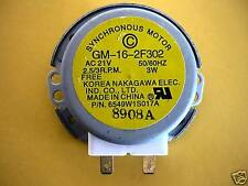 LG MICROWAVE OVEN TURNTABLE MOTOR 6549W1S017A 6549W1S011B, 6549W1S017E, 6549W1S0