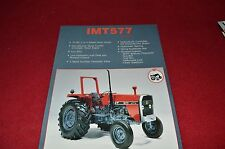 IMT 577 De luxe Tractor Dealers Brochure LCOH