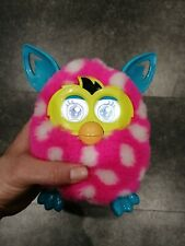 2012 Furby Pink Yellow Blue White Polka Dots Good Working Order