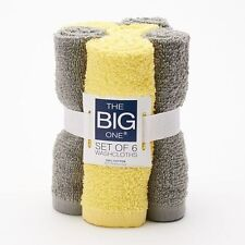 The Big One® Solid 6-pk. Washcloths