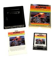 Atlantis (Atari 2600, 1982) Cart, Manual and Original Box, Tested, CIB