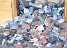 Tumbled Gemstone Natural Crystal Moonstone and Sunstone Mix 5g Cancer Jun Jul