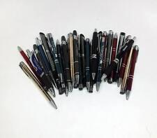 Lot of 1,000 ~Wholesale Misprint Metal Retractable Pens (Assorted)