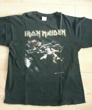 Iron Maiden Man On The Edge Official T-Shirt (Vintage, Rare)