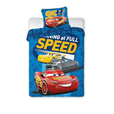 NEW Disney CARS Lighting McQueen speed Baby Toddler Bedding Set 100% COTTON Cot