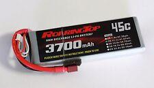 RoaringTop LiPo Battery Pack 45C 3700mAh 3S 11.1V with Deans Plug