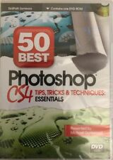 50 Best Photoshop CS4 Tips Tricks Michael Gatewood DVD-RARE VINTAGE-SHIP N 24HRS