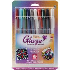 BASICS Gelly Roll Glaze Bold Point Pens 10/Pkg Gel Pens by Sakura