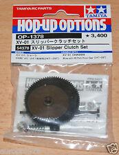 Tamiya 54378 XV-01 slipper clutch set (XV01/XV-01 Pro/XV-01T/XV01T), nip