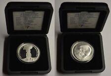 GN905 Niederlande 10 Euro 2002 Royal Wedding Prooflike KM#243 Silber in Orig.Box