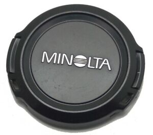 Genuine Minolta 55mm Clip On Front Lens Cap Model LF-1055 Made in Japan Used