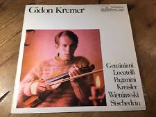 LP * ETERNA 826957 - GIDON KREMER VIOLIN RECITAL PAGANINI KREISLER - 1976