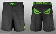 Bad Boy Men's Legacy III MMA Shorts Black/Green X-Large