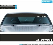 AUTECH WINDSCREEN BANNER SUNSTRIP STICKER DECAL ALL COLOURS NISSAN NISMO