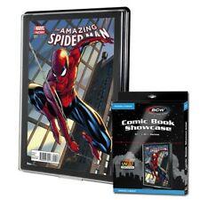 5 BCW UV Current/Modern Comic Book Showcases Wall Mountable Display Frame