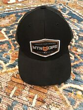 d4e47e56 MTN Ops Mesh Snapback Trucker Hat Black Adjustable Richardson Style 112