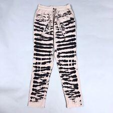 Gypsy 05 Lakota Silk Drawstring Tapered Pants Tie Dye Womens Size XS Boho Chic