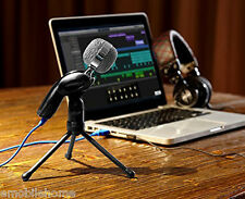SF-922B USB Condenser Sound Microphone Clear Digital Sound with Shock Mount