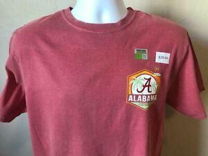 Alabama Crimson Tide 2021 Championship MEN Two Sided Short Sleeve Shirt Size 3XL