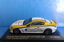 MASERATI GRAN TURISMO MC GT4 #16 TEST CAR NECCHI TROFEO 2010 MINICHAMPS 40010121