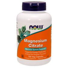 Magnesium Citrate,120 Veg Capsules - NOW Foods