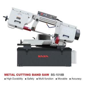 KAKA BS-1018B, Metal Cutting Bandsaw, Solid Horizontal Metal Bandsaw 415V-50HZ