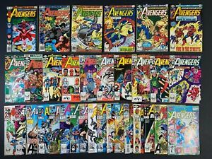 Run of (33) The Avengers (1979-93) #186-368 + Annuals Marvel Comics More Listed